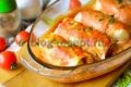 голубцы в духовке в томатно сметанном соусе