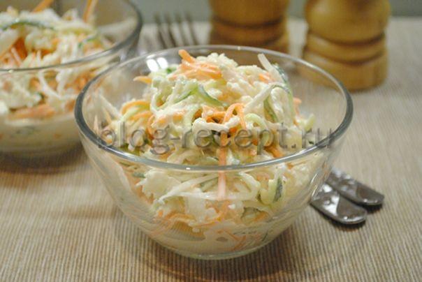 салат из редьки со сметаной рецепт