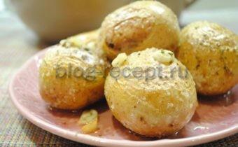 запеченный картофель в духовке в мундире