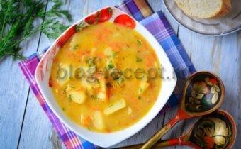 суп гороховый без мяса рецепт