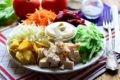 козел в огороде салат классический рецепт с фото