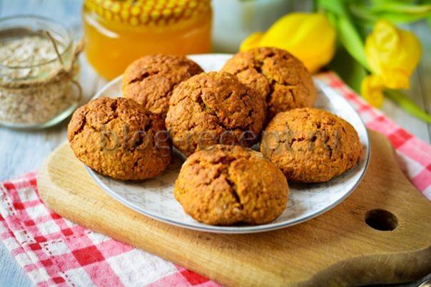 овсяное постное печенье рецепт