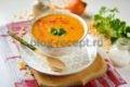 гороховый суп пюре постный