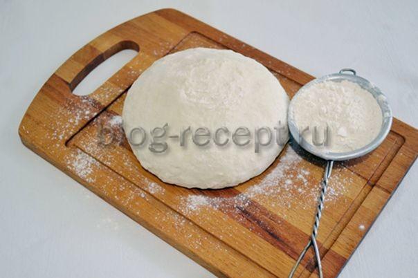 тесто для чебуреков на минералке