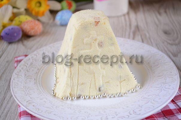 творожная пасха царская рецепты с фото