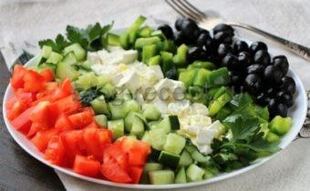 греческий салат рецепт классический пошаговый рецепт с фото