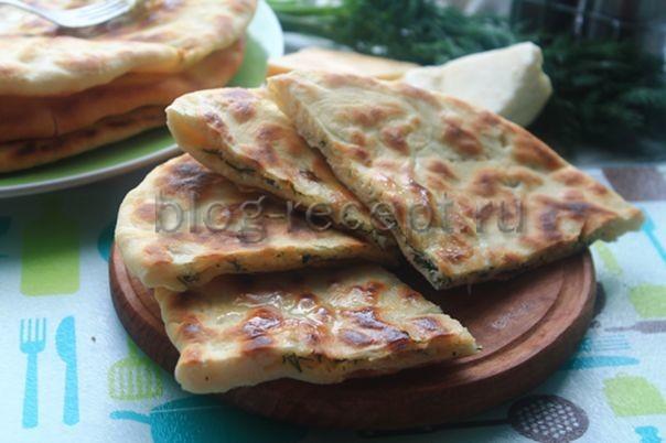 хачапури с сыром на сковороде рецепт с фото
