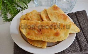 тесто для чебуреков вкусное хрустящее на кефире