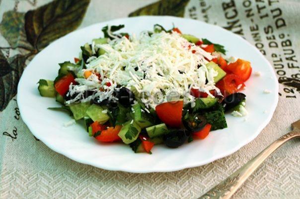 шопский салат рецепт классический