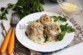 ленивые пельмени на сковороде рецепт с фото пошагово