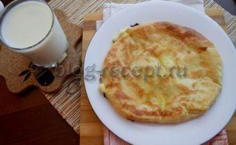 рецепт хачапури с сыром на кефире на сковород