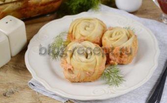 ленивые пельмени в духовке рецепт с фото пошагово
