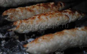 люля кебаб на мангале рецепт