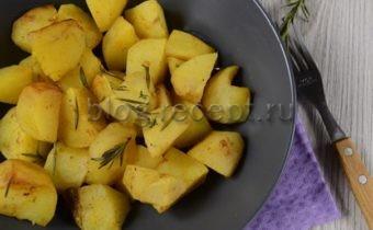 картошка в духовке в рукаве для запекания