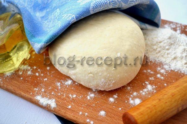 тесто для пирожков постное