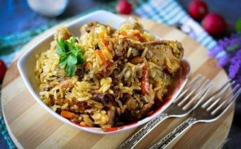 как приготовить плов из курицы чтобы рис был рассыпчатым