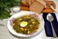 суп со щавелем и яйцом рецепт с фото с мясом
