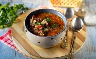 суп харчо рецепт приготовления в домашних условиях с рисом