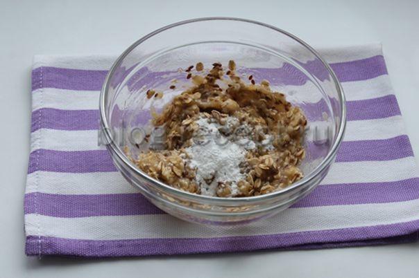 Бананово-овсяное печенье - рецепт пошаговый с фото