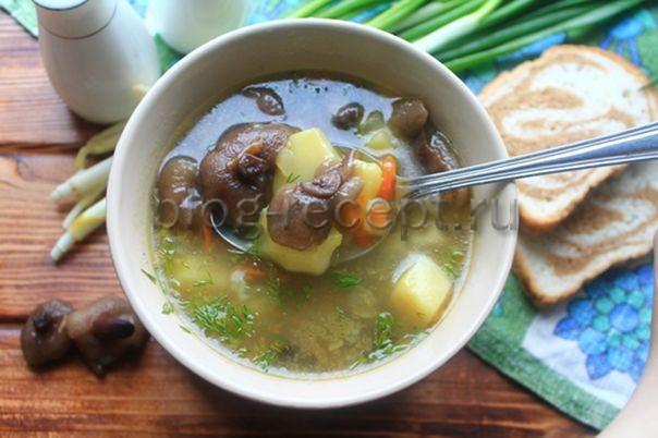 грибной суп из грибов замороженных рецепт с фото