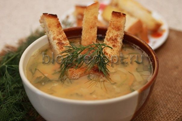 рецепт пошаговый с фото гороховый суп с курицей