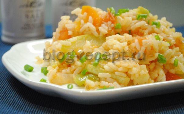 кабачки с рисом рецепты