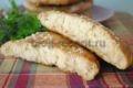 лепешки на кефире в духовке рецепт с фото