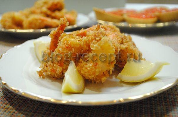 креветки темпура рецепт с фото