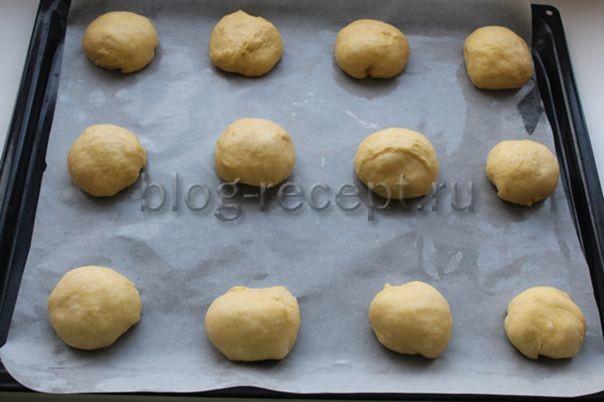 Сладкие ватрушки в духовке - рецепт пошаговый с фото