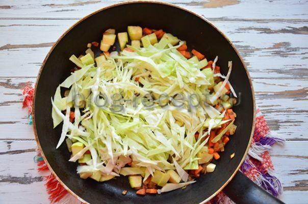 Рагу с кабачками картошкой и мясом
