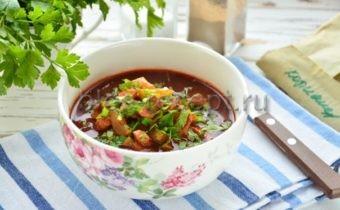 солянка по грузински классический рецепт