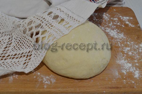 тесто для пирожков на кефире на сковороде