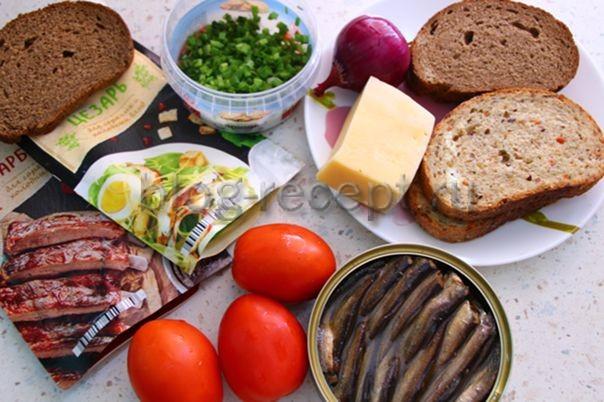 Горячие бутерброды со шпротами - вкусные рецепты на праздничный стол