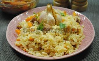 как приготовить плов из свинины чтобы рис был рассыпчатым