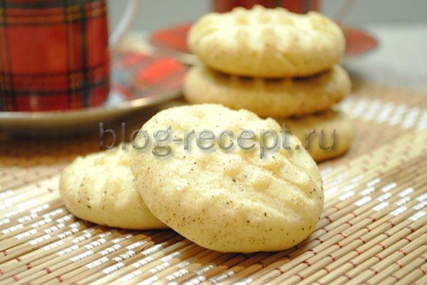 печенье песочное домашнее рецепт на масле сливочном