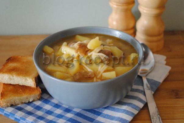 грибной суп с замороженными грибами