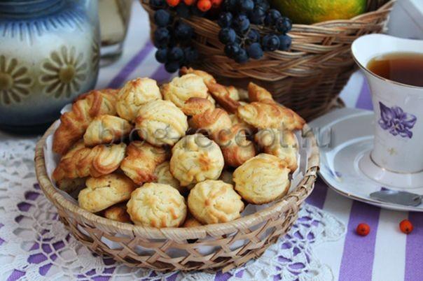 готовое печенье на майонезе с маслом