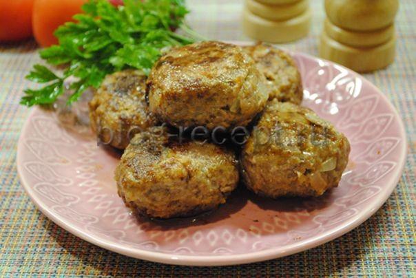 котлеты из говядины сочные рецепт