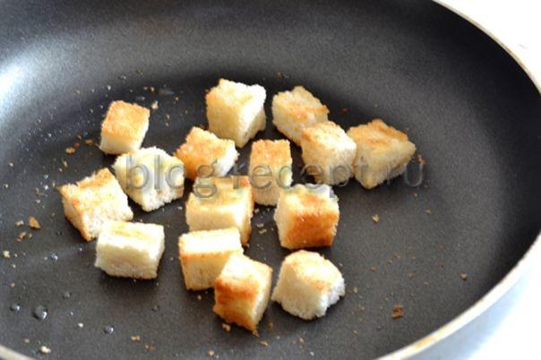 готовим сухарики