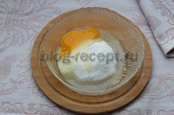 яйцо и сахар