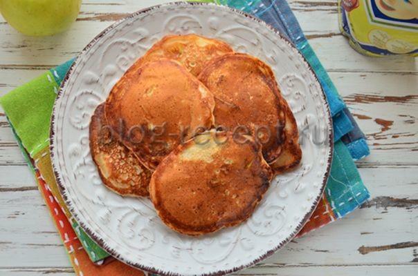 Оладьи на кефире без яиц - рецепт пошаговый с фото
