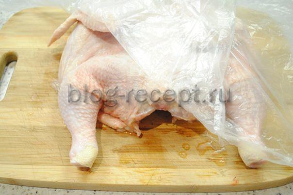 Простой рецепт классического цыпленка табака на сковороде