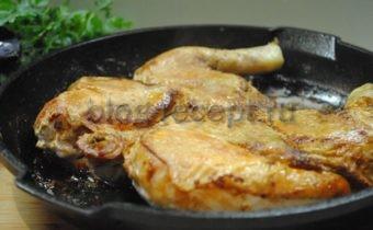 цыпленок табака рецепт на сковороде под прессом