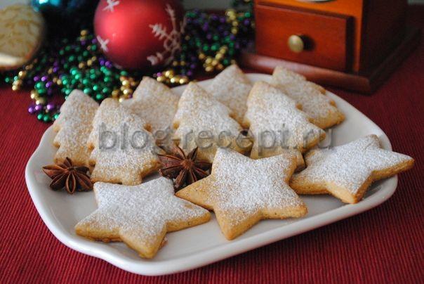 рецепт имбирного печенья на новый год