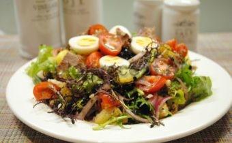салат нисуаз классический рецепт с тунцом
