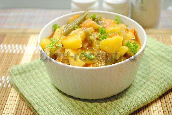 рагу с мясом и картошкой