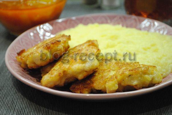 котлеты из куриной грудки рубленные с сыром