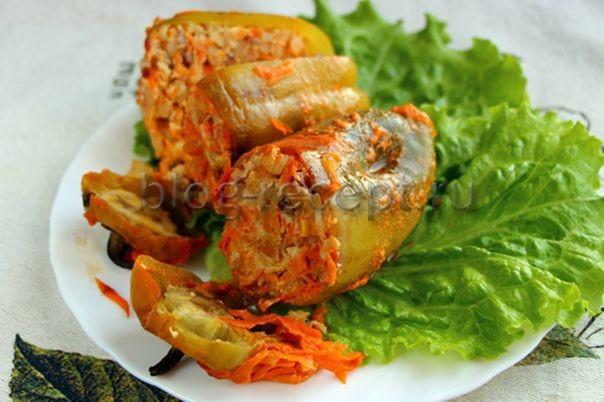 перец фаршированный мясом и рисом в духовке
