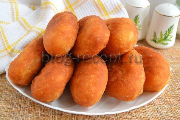 жареные пирожки с картошкой и печенкой