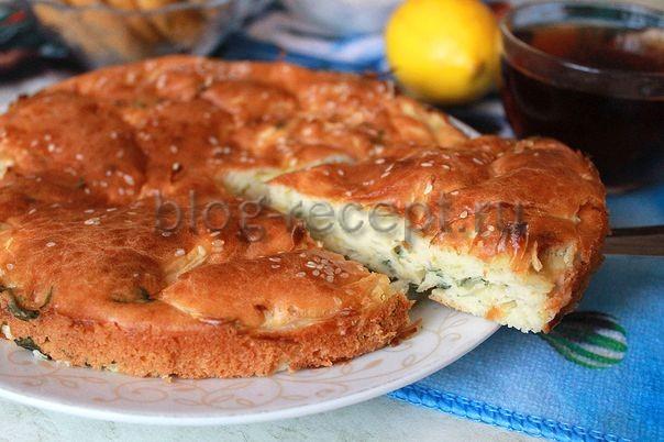 пирог с капустой ленивый